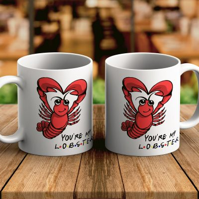 You're My Lobster Friends Šolja